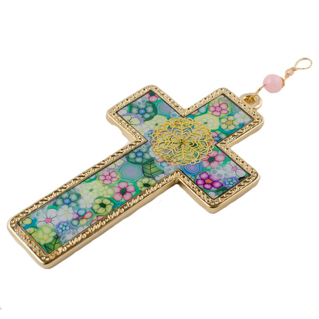 Colorful Wall Decoration Cross
